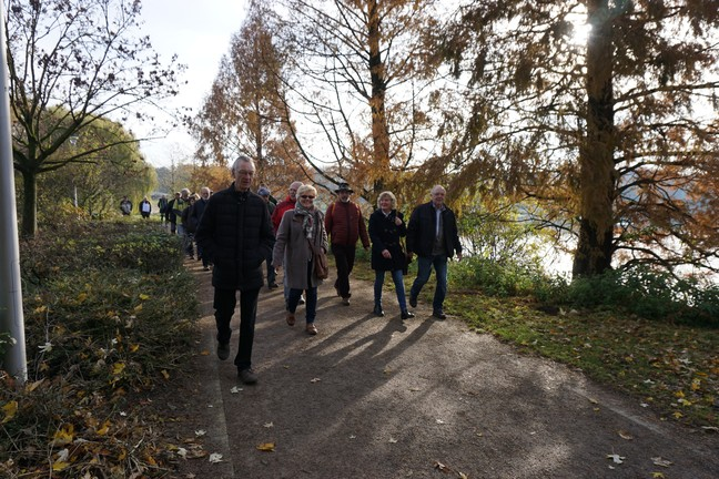 Wanderung am Aasee in Bocholt